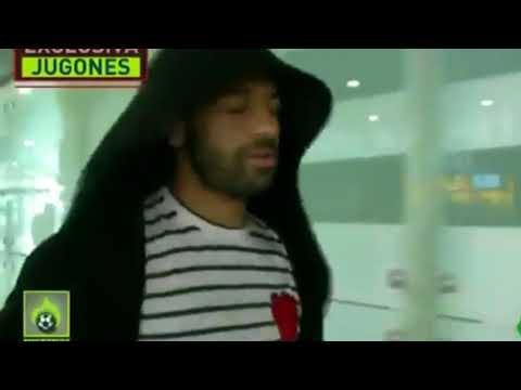 Liverpool's Super Star ► Mohamed Salah arrives in Spain for treatment ⚽