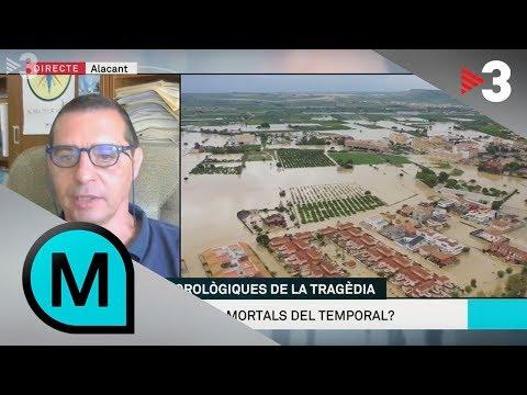 Jorge Olcina: 'S'ha d'adaptar el territori al canvi climàtic'