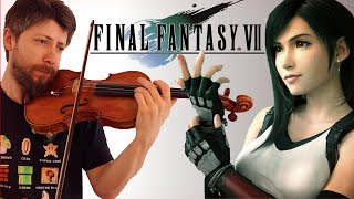 FINAL FANTASY 7 Remake - Tifa's Theme - Violin and Guitar cover