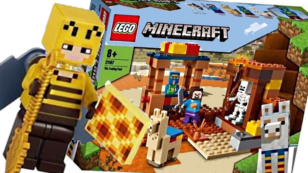 LEGO Minecraft 11 sets! RANDOM reveal, but honestly cool!
