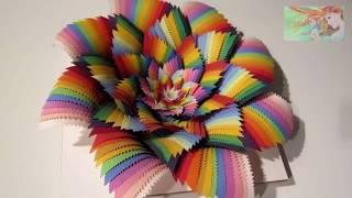 Amazing paper art. Hypnotic 3D Paper Cut