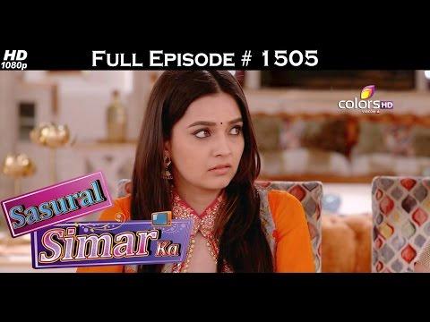 Sasural Simar Ka - 16th May 2016 - ससुराल सिमर का - Full Episode (HD)