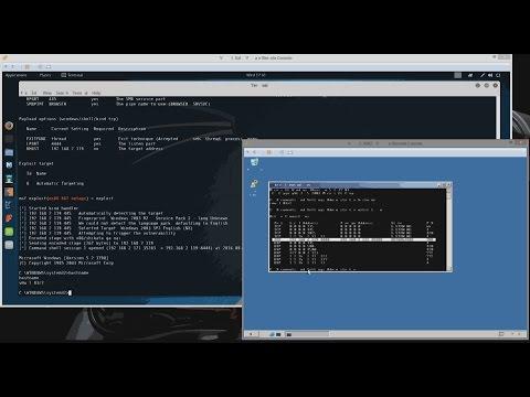 Metasploit Framework basics on Kali Linux - Owning a Windows Server