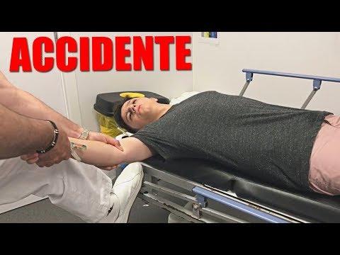 ACCIDENTE ME ROMPO EL BRAZO EN UNA MANSIÓN...