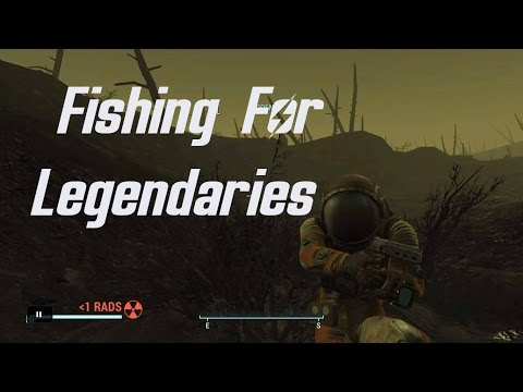 Fallout 4 | Fishing For Legendaries In The Glowing Sea!