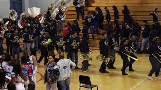 Westbury High School Marching Band Exit Home For The Holidays BOTB 2018