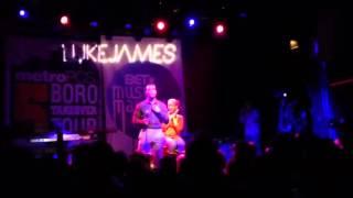"Luke James ""Let Me Love You Down"" Irving Plaza"