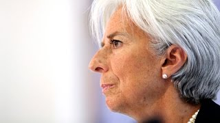 IMF's Christine Lagarde on Ebola: IMF Can't Finance Hospitals