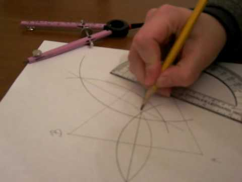 Construction of the Circumcenter of a Triangle