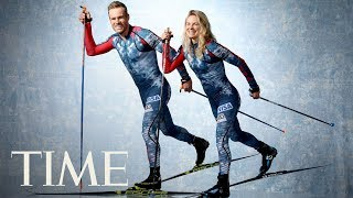 Jessie Diggins, Simi Hamilton Can't Stop Smiling For The Camera | Meet Team USA | TIME