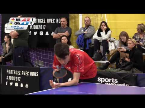 Jeux du Québec – 2017 03 01 – Tennis de Table  2