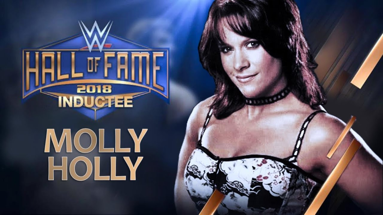 1f8c48119146 Molly Holly joins the WWE Hall of Fame Class of 2018 - Custom - YouTube