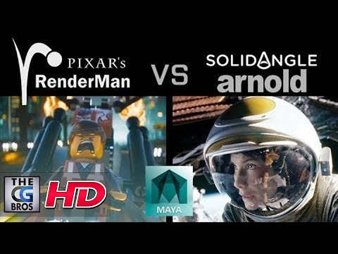 "CGI & VFX Tutorials HD: ""Renderman VS. Arnold"" - by PixelBump"
