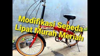 Modifikasi Sepeda Lipat Exotic Sepeda Lipat Modifikasi Review Modifikasi Sepeda Lipat Exotic Youtube