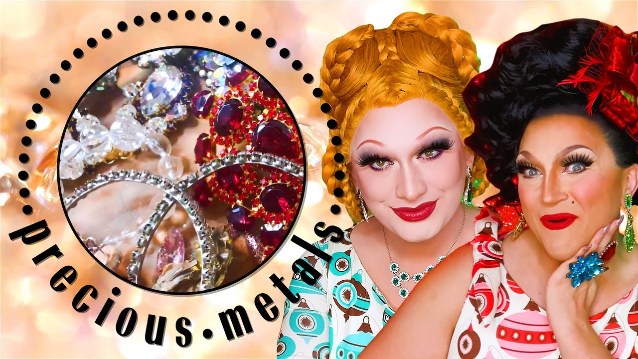 Jinkx Monsoon & BenDeLaCreme Show Off Their Most Fabulous Jewelry | Precious Metals | Marie Claire