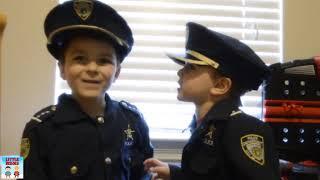 Home Alone Showdown Kids vs Sketchy pretend play