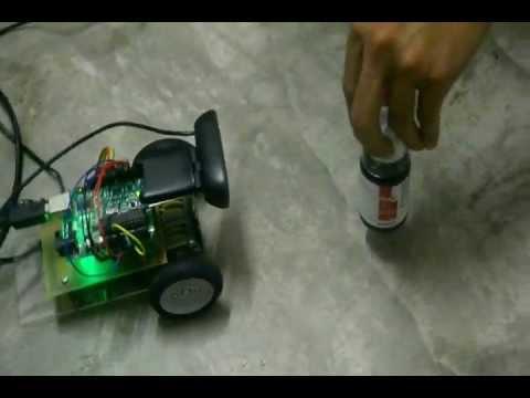 Tld Algorithm Arduino Vision Based Mobile Robot Youtube