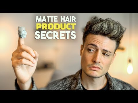 Why Matte Finish Hair Products Actually SUCK | Men's Hair | BluMaan 2018