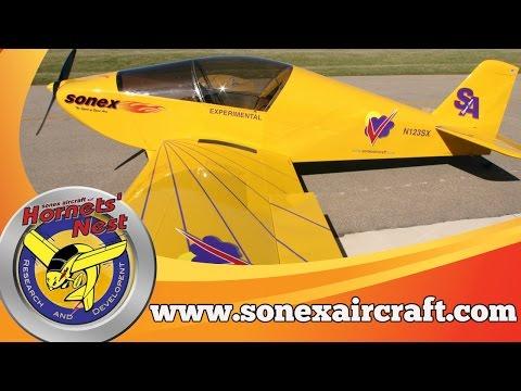 Sonex Aircraft, Sonex Aircraft Factory Tour, Sonex kits, Aero V engines, Sonex A & B model aircraft