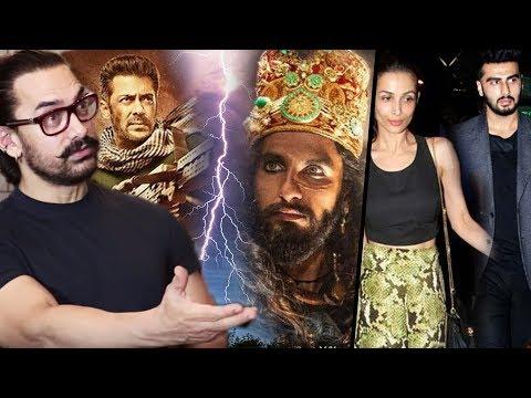 Aamir Khan REACTS SALMAN'S V/S RANVEER'S, Malaika Arora–Arjun Still Meeting In Secret?