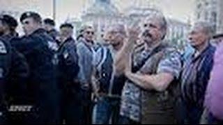 Polizeigewalt Deutschland - Pegida Munich - Police violence errupts - September 26th