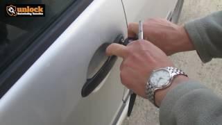 Otvorenie zamknutého auta - Škoda Fábia 2003