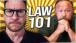 Real Lawyer Analyzes Alex Jones' Deposition - Viva Frei Vlawg