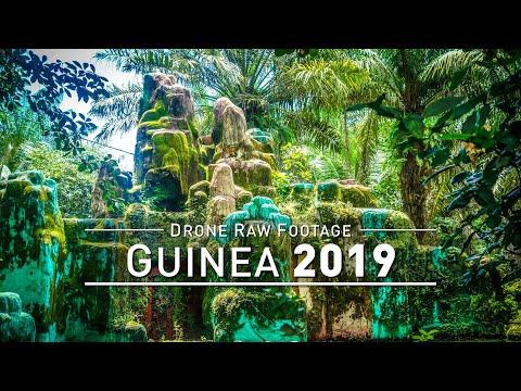 【4K】Drone RAW Footage | GUINEA 2019 ..:: Conakry :: Tanene | UltraHD Stock Video