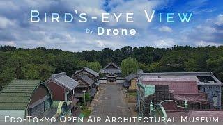 【小金井市】Bird's-eye View - Edo-Tokyo Open Air Architectural Museum / by Drone