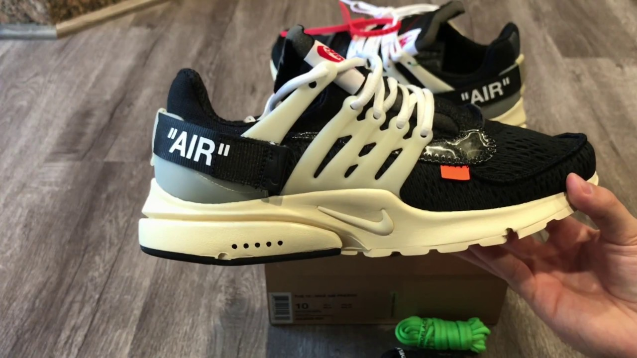 46f926cfda0e OFF WHITE X NIKE AIR PRESTO Unboxing and Review (BEST SNEAKER OF 2017)