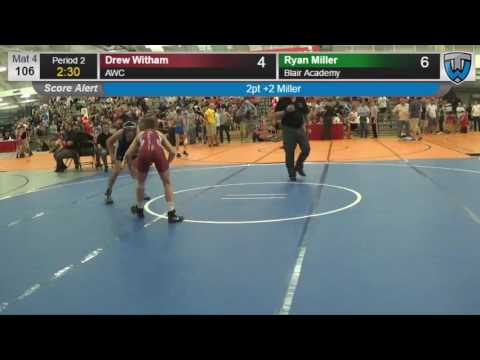 138 Cadet 106 Drew Witham AWC vs Ryan Miller Blair Academy 406780104