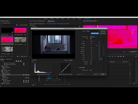 How to: Editing RED Files in Adobe Premiere