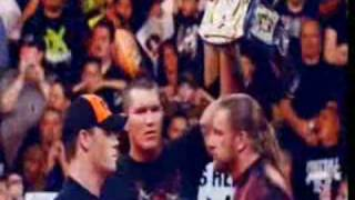 Randy Orton vs John Cena vs Triple H WM 24