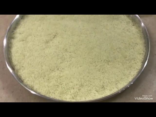 حلويات رمضان //الكنافة المتماسكة المقرمشة