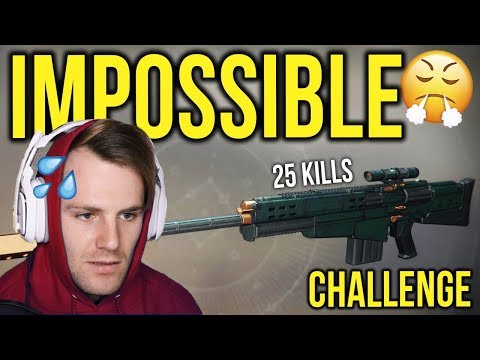You CAN'T get 25 kills with this... (Destiny 2) thumbnail