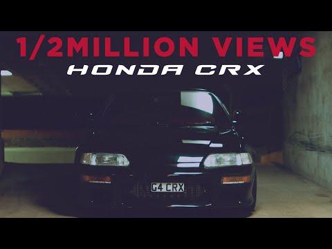 Honda CRX This starts like a movie!!