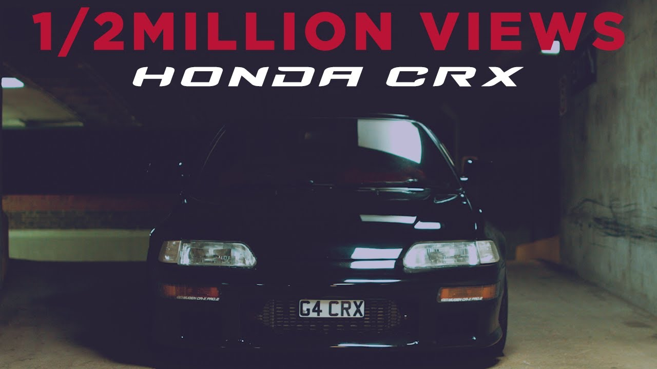 Honda Crx Youtube