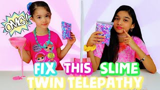 Fix this SLIME| Twin Telepathy Edition!