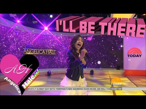 "Angelica Hale Performs ""I'll Be There"" - Kathy & Hoda - Today Show"