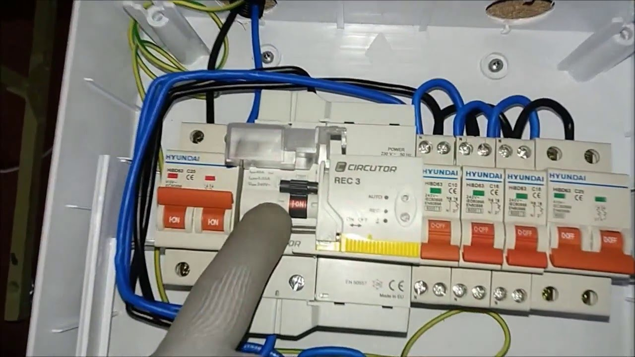 Diferencial de rearme automtico precio finest interruptor for Diferencial rearme automatico