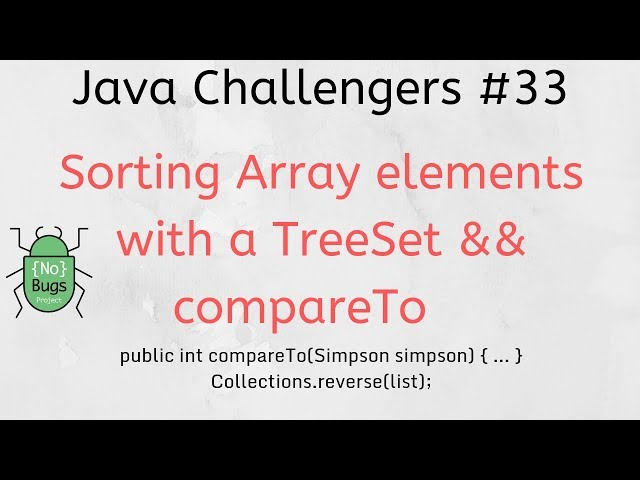 Sorting with Comparable and Comparator in Java | JavaWorld