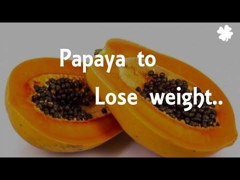Papaya Helps to lose weight || Health tips || Benefits of papaya