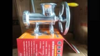 081317526565 (TELKOMSEL) Video Mesin Giling Daging dan Kacang Manual