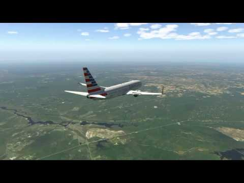 X Plane 11 American Airlines 1231 Boston Logan To