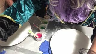 Resin Pigment Canada Tutorials halloween with Mr.Strachan