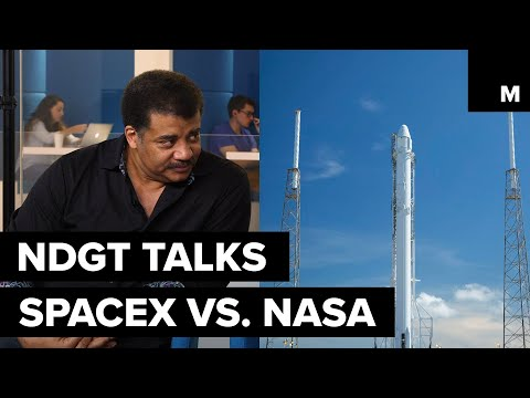 Difference between SpaceX and NASA