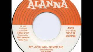 ELROY & THE EXCITEMENTS - MY LOVE WILL NEVER DIE / NO ONE KNOWS - ALANNA 565 - 1959