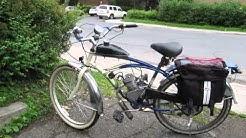80cc/66cc Schwinn 5 star cruiser motorized bike daily driver a little over $400 part 1
