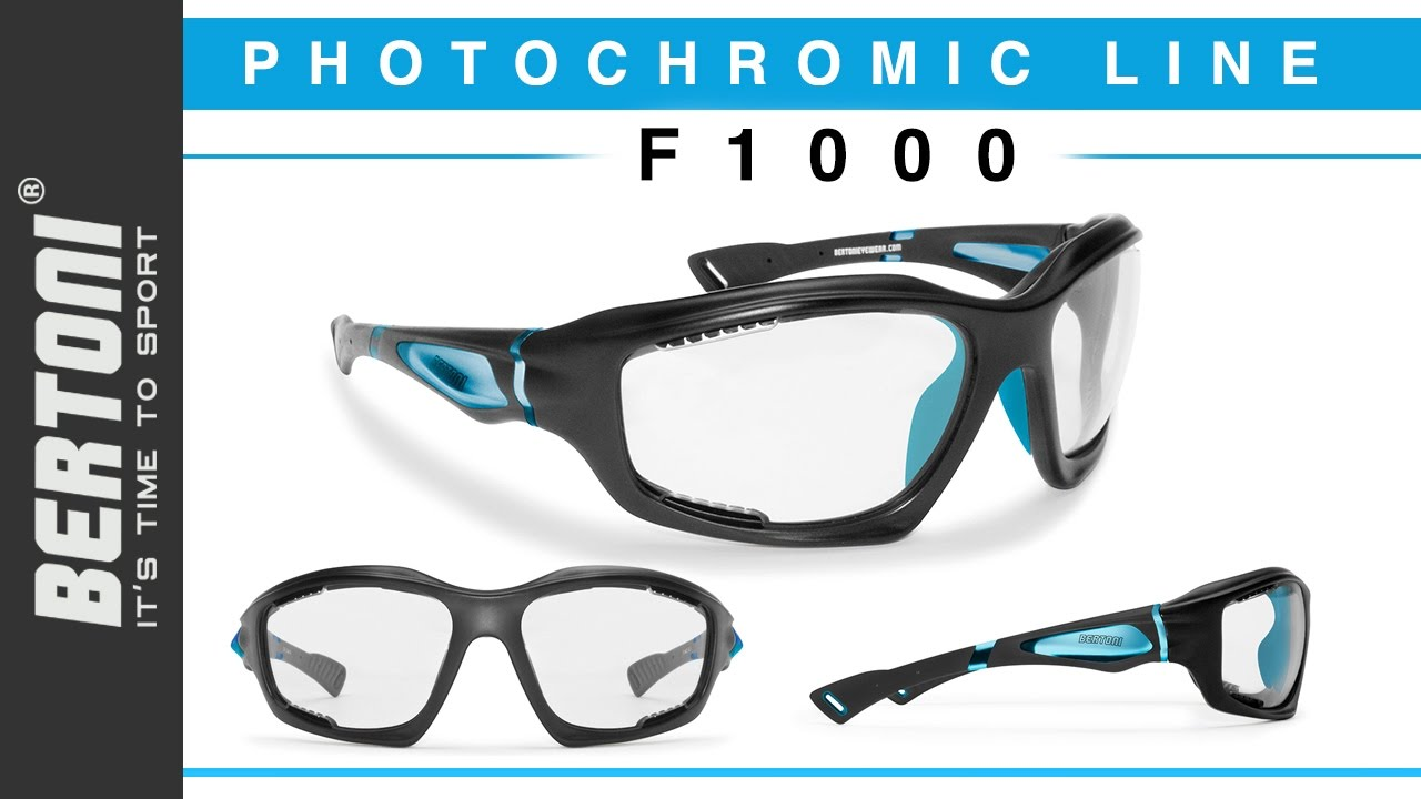 5d98a0396a6 F1000 Photochromic Sunglasses Antifog for Extreme Sports Bertoni. Bertoni Sport  Eyewear