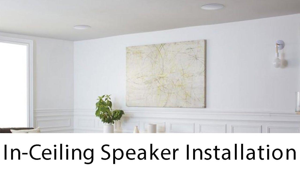 Klipsch In-Ceiling Speakers - YouTube